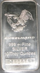 Definitive Page About 10 Ounce Engelhard Silver Bars