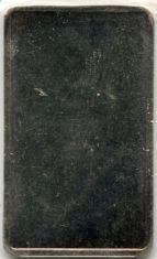 5-Gram (g) Johnson Matthey Silver Bar, Variety A, Reverse